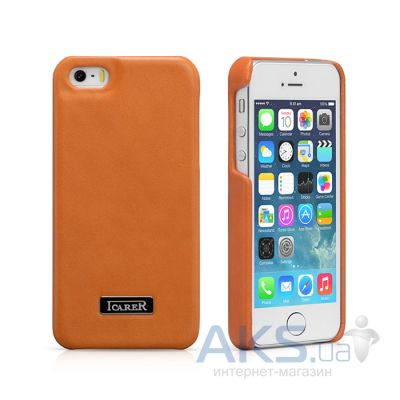 Чехол iCarer Luxury Back Cover Apple iPhone 5, iPhone 5S, iPhone 5SE Orange