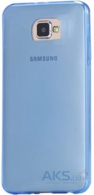 Чехол Remax Ultra Thin Silicon Case Samsung A510 Galaxy A5 2016 Blue