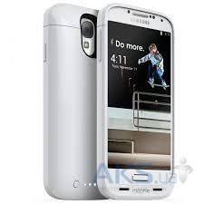 Чехол Mophie Juice Pack Case for Samsung Galaxy S IV i9500 (2488-JP-SSG4-WHT-I) White
