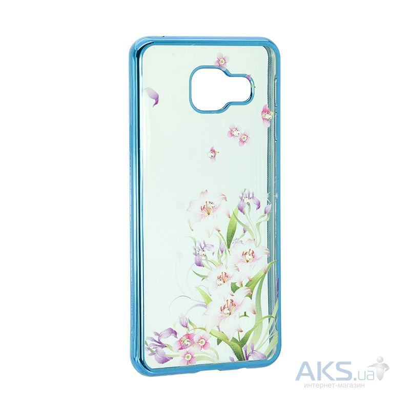 Чехол Remax Osaka Series Xiaomi Redmi 3 Spring Flowers Blue