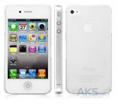Чехол IMAK Ultra Thin Color Series Apple iPhone 4, iPhone 4S Transparent