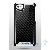 Чехол ITSkins Fusion Carbon Core for iPhone 5/5S White (APH5-FUSCA-BKWH)
