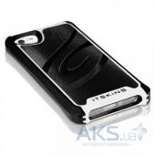 Вид 2 - Чехол ITSkins Fusion Alu Core for iPhone 5/5S Black/White (APH5-FUSAL-BKWH)
