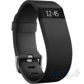 Спортивный браслет Fitbit Charge HR Large Black (FB405BKL-EU)