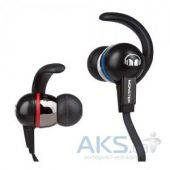 Наушники (гарнитура) Monster iSport Immersion In-Ear with ControlTalk Black