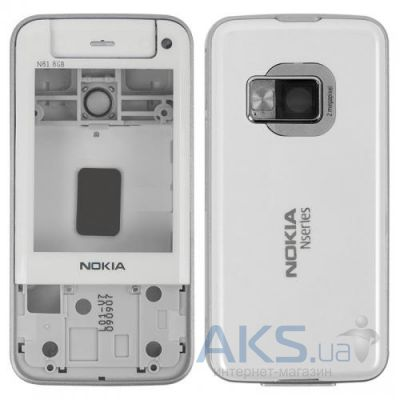 Корпус Nokia N81 8GB White
