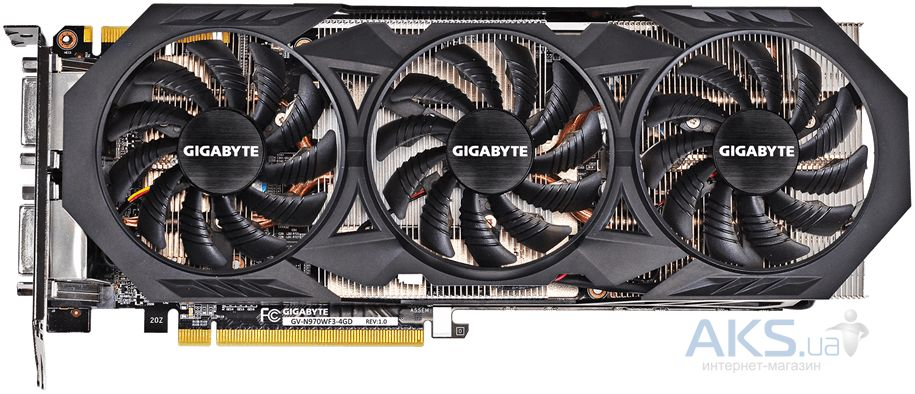 Видеокарта Gigabyte GeForce GTX970 4096Mb WF3 (GV-N970WF3-4GD)