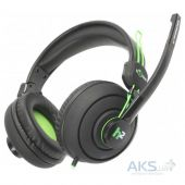 Гарнитура для компьютера Maxxter Sonar H2 Black/Green