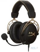 Наушники HyperX Alpha Gold Limited Edition (HX-HSCA-GD)