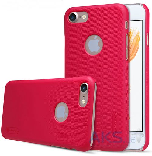 Чехол Nillkin Super Frosted Shield Apple iPhone 7 Red