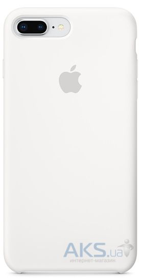 Чехол Apple Silicone Case iPhone 7 Plus, iPhone 8 Plus White_HC
