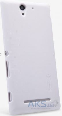 Чехол Nillkin Super Frosted Shield Sony Xperia C3 D2502 White