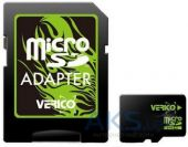 Вид 1 - Карта памяти Verico 32GB MicroSDHC Class 10 + SD Adapter (VFE3-32G-V1E)