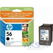 Картридж HP DJ No. 56 (C6656AE) Black