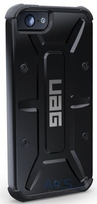 Чехол UAG Urban Armor Gear Apple iPhone 5, iPhone 5S, iPhone 5SE Black (IPH5S-BLK/BLK-W/SCRN-VP)