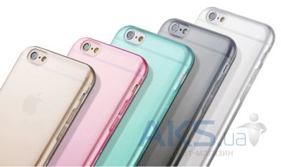 Чехол Original TPU Slim case for Apple iPhone 6/6S Pink