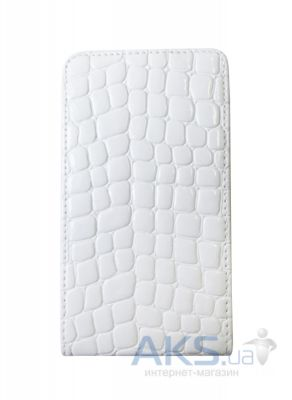 Чехол Atlanta Book case for LG Optimus L Fino D295 White