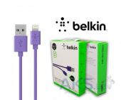 Вид 2 - Кабель USB Belkin Lightning to USB ChargeSync Cable for iPhone 1.2m Violet (F8J023bt04-PRhc)