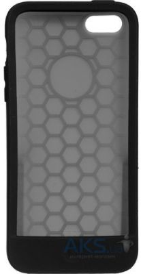 Чехол Moshi Silicone Case Origo Graphite Black for iPhone 5C (99MO050003)