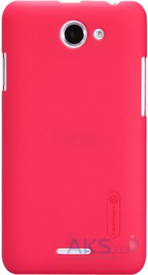 Чехол Nillkin Super Frosted Shield HTC Desire 516 Red