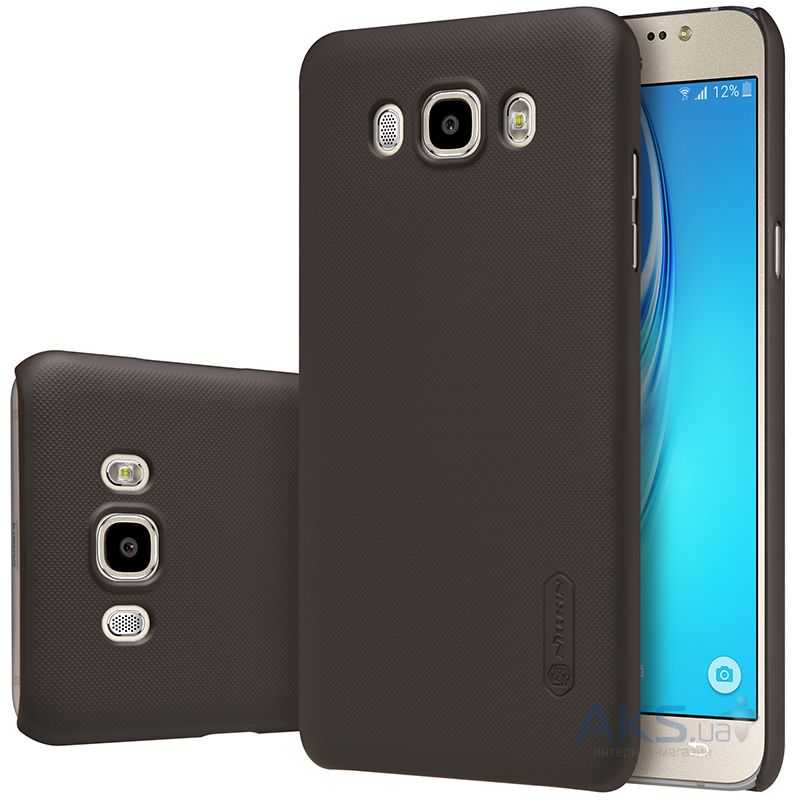 Чехол Nillkin Super Frosted Shield Samsung J710 Galaxy J7 2016 Brown