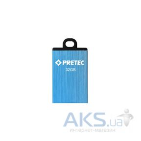 Флешка Pretec Elite 8Gb E2T08G-1BU blue