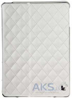 Чехол для планшета JisonCase Microfiber quilted leather case for iPad Air White [JS-ID5-02H00]