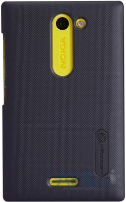 Чехол Nillkin Super Frosted Shield Nokia Asha 502 Black