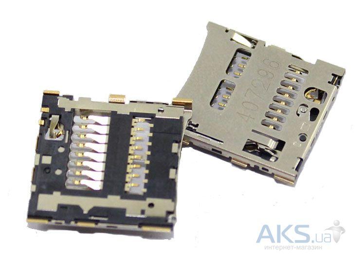 (Коннектор) Разъем карты памяти Huawei Ascend P6-U06 / P6S-U06