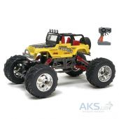 Игрушка на радиоуправлении New Bright Pro Dirt Jeep Wrangler Rock Crawler 1:18 (1800) Yellow