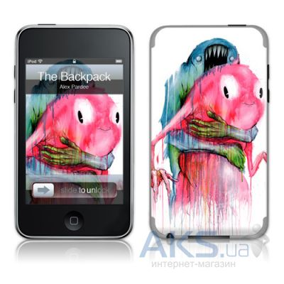 Защитная пленка GelaSkins The Backpack for iPod touch 2G/3G