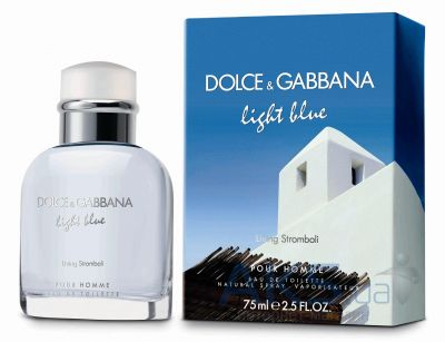 DolceGabbana Light Blue Living Stromboli Pour Homme Туалетная вода 125 ml