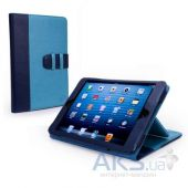 Чехол для планшета Tuff-Luv Manhattan Leather Case Cover with Sleep Function for Apple iPad Mini Navy / Sky Blue (I7_23)