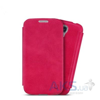 Чехол Usams Book case for Samsung i9500 Galaxy S4 Pink