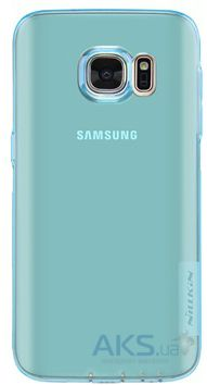 Чехол Nillkin Nature Series Samsung G930 Galaxy S7 Transparent Blue
