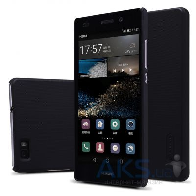 Чехол Nillkin Super Frosted Shield Huawei Ascend P8 Lite Black