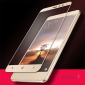 Вид 2 - Защитное стекло Tempered Glass 3D Full Cover Xiaomi Redmi Note 3, Redmi Note 3 Pro Gold