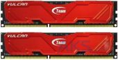 Оперативная память Team DDR3 16GB (2x8GB) 160 MHz Vulcan Red (TLRED316G1600HC10ADC01)