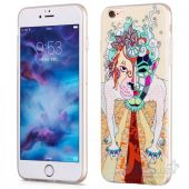 Вид 2 - Чехол Hoco Element Series Mythology Dogz Apple iPhone 6 Plus, iPhone 6S Plus White