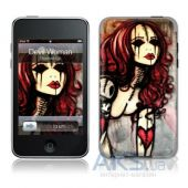 Защитная пленка GelaSkins Devil Woman for iPod touch 2G/3G