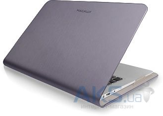 "Чехол Macally Protective folio case for MacBook Air 13"" Purple (AIRFOLIO13-PU)"
