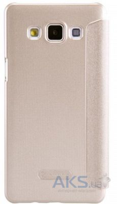 Чехол Nillkin Sparkle Leather Series Samsung A500F Galaxy A5 Gold