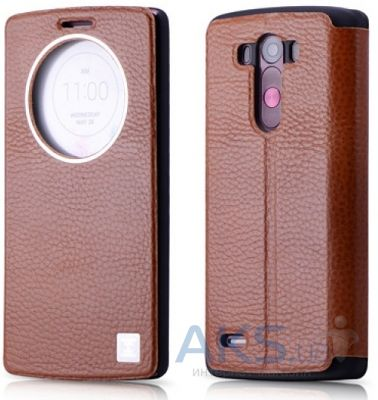 Чехол Xoomz Litchi Pattern Leather LG Optimus G3 D850 Brown