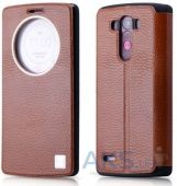 Чехол Xoomz Litchi Pattern Leather для LG Optimus G3 Brown