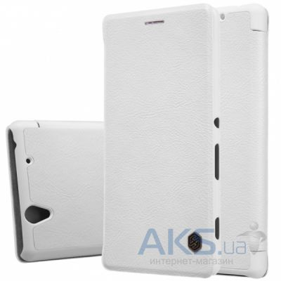 Чехол Nillkin Qin Leather Series Sony Xperia Z5 Premium E6853 White