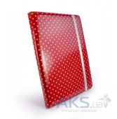 Вид 2 - Чехол для планшета Tuff-Luv Slim-Stand Leather Case Cover for iPad 2,3,4 Raspberry: Polka-Hot (B10_36)