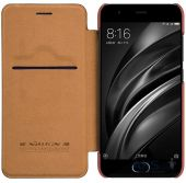 Чехол Nillkin Qin Leather Series Xiaomi Mi 6 Brown