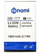 Аккумулятор Nomi i177 / NB-177 (1000 mAh) Original
