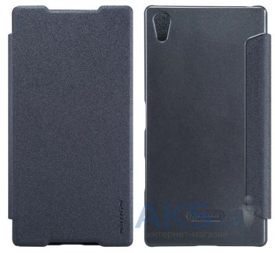 Чехол Nillkin Sparkle Leather Series Sony Xperia Z5 Premium Black