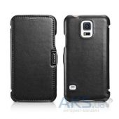 Чехол iCarer Side-open Luxury Samsung G900 Galaxy S5 Black